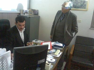 القيرواني و محمد صالح نجف مديريت مركز